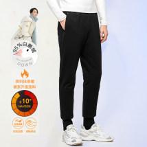 Down pants toddling black S,M,L,XL,2XL,3XL,4XL other trousers Wear out White Velvet Travel? middle age DSB07E0010
