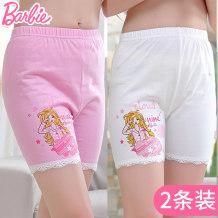 underpants cotton Barbie / Barbie 110cm120cm130cm140cm150cm160cm170cm Cotton 95% polyurethane elastic fiber (spandex) 5% summer female Class B seventy-nine thousand three hundred and three Spring of 2018