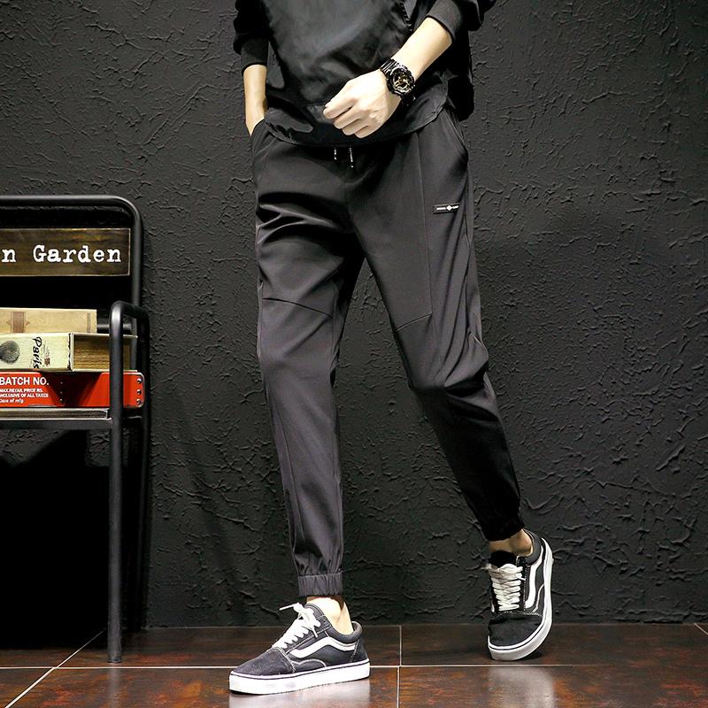 Casual pants Admiration Youth fashion Army green 826 3XL routine Micro bomb 18-3-3-1 Cotton 90% polyurethane elastic fiber (spandex) 10% Spring of 2018