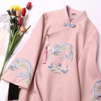 jacket Winter of 2018 Fengge cheongsam coat (pre sale) SMLXLXXL eighteen thousand and thirteen Magic heart commune 18-25 years old Other 100% Pure e-commerce (online only)