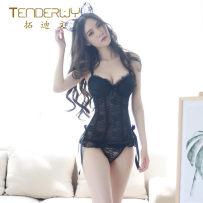 Body shaping suit Todd black ML Sleeveless ultrathin sexy TD2532D824 Briefs Lace Autumn of 2018 Polyamide fiber (nylon) 90% polyethylene terephthalate (polyester) 10%