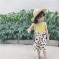 skirt Beige 80cm 90cm 100cm 110cm 120cm 130cm Other / other female Cotton 90% other 10% summer skirt Original design Dot other Cotton and hemp