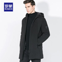 Down Jackets dark blue Romon / Romon White duck down One hundred and seventy Business gentleman routine 90% 8YR979978-1 100g (including) - 150g (excluding) Polyester 100% Summer of 2018 Pure e-commerce (online only)