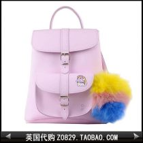 Backpack cowhide Grafea Pink Sweet Lady  Double skin of cattle