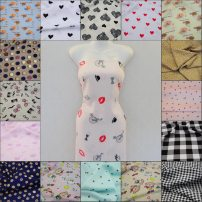 Fabric / fabric / handmade DIY fabric cotton Dh-430 dh-583 24373 24329 243588 243589 dh-615 09031 dh-581 229869 24359 dh-604 dh-2017 dh-996 milky white black pink color card its color is ginger lemon light yellow light green sky blue light blue dark blue Loose shear piece Others printing and dyeing