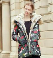 Down Jackets Winter 2017 Other / other Green camouflage S M L White duck down 90% 16AW-DJ-H003