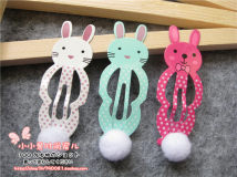 Hair accessories Side clip RMB 1.00-9.99 Other / other Rose red one, green one, white one brand new