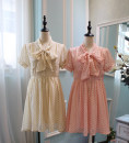Dress Summer of 2018 Beige beige Pink S M L More than 95% other other