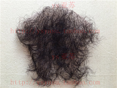 Other wigs Other / other Natural black natural black + glue natural black + double sided adhesive + degumming solution Human hair Other items