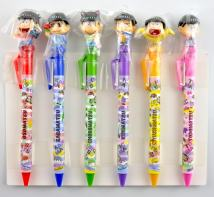 Cartoon card / Pendant / stationery Over 14 years old ball pen A song 1 2 3 4 5 6 A song
