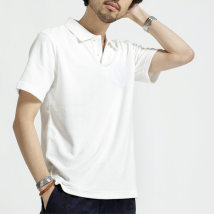 T-shirt Fashion City No letter (with pocket) stitching (letter) right letter (Pocket) routine M L XL Others Short sleeve Lapel standard Other leisure summer 180528F routine 2018 Solid color