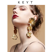 Earrings other RMB 25-29.99 KEYT Gold single gold pair silver single silver pair black single black pair