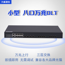Other optical fiber equipment No module is full of 8 PON modules