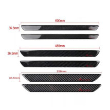 Body / window trim AKD / ekada Two hundred and thirty-four True carbon fiber 258MM backdoor, one pair of true carbon fiber 485MM front door pair, true carbon fiber 600MM front door pair. Threshold bar Support installation