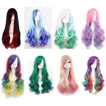 Whole wig Black wine red hzy-01 color hzy-07 pink purple hzy-03 Milan green hzy-04 meter white pink hzy-05 dark green light green hzy-06 colorful hzy-07 blue purple hzy-08 hzy-02 Other/others Other items