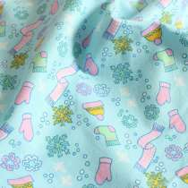 Fabric / fabric / handmade DIY fabric cotton Short plush scarf blue background short plush Scarf Pink Background Exciting color 100% M1310082