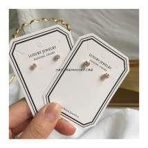Ear Studs Alloy / silver / gold RMB 20-24.99 Other / other 3mm   one pair 4mm   one pair brand new Japan and South Korea female goods in stock Fresh out of the oven Not inlaid other