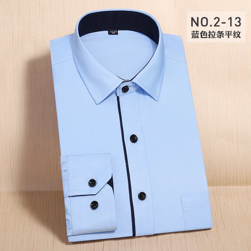 shirt Business gentleman Xizilong Forty-one 2-17 routine 2-1 Polyester 100% Color woven fabric Spring 2017 Pure e-commerce (online only)
