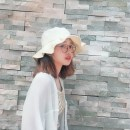 Hat cotton Lotus leaf blue lotus leaf Beige lotus leaf pink lotus leaf yellow The windbreak and freight insurance are adjustable Basin cap / fisherman's hat Spring summer autumn winter female Sweet and lovely Young people flat roof Big eaves 15-19, 20-24, 25-29 alone Shopping Auricularia auricula no