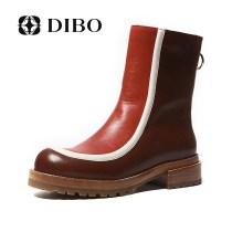 Boots Thirty-nine Первый слой кожи Black (imported cow hide)