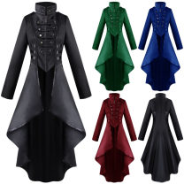 Clothes & Accessories Farley animation Red Medieval Women's lapel, black Medieval Women's lapel, green Medieval Women's lapel, blue Medieval Women's lapel Parenting XL,XXL,M,L,S See description 1