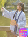 short coat Autumn of 2018 S M L lilac colour Long sleeves Medium length routine singleton  easy Sweet routine V-neck Frenulum Plants and flowers other