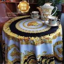 Tablecloth / table flag / chair cover / cushion Long B & classic double lion gold cup (authentic) 150x210cm (suitable for rectangular table)