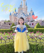 Dress Snow white dress female Other / other 90cm,100cm,110cm,120cm,130cm,140cm,150cm Other 100% No season princess Skirt / vest Cartoon animation other Princess Dress Chinese Mainland