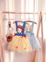 Dress female Other / other 90cm,100cm,110cm,120cm,130cm,140cm Other 100% summer princess Skirt / vest Cartoon animation other other 18 months, 2 years old, 3 years old, 4 years old, 5 years old, 6 years old, 7 years old, 8 years old
