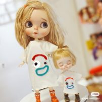 BJD doll zone suit 1/12 Over 14 years old Customized Ob11, little cloth Blythe
