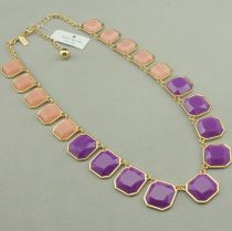 Necklace other 10-19.99 yuan Other / other Light green with green pink with red purple with light pink blue with black yellow with blue brand new Europe and America female goods in stock Fresh out of the oven Not inlaid other other other