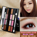 Eye shadow Normal specifications LADY YOYO No China Contour, eye, other No.01 elegant little fresh No.03 Korean nude makeup No.02 play with color No.04 smoke the earth No.05 girl light luxury No.06 late autumn gold 8 colors and above Any skin type 3 years