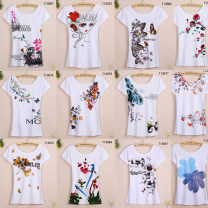 T-shirt T13077 T13080 T13081 T13083 T13079 T13078 T13070 T13072 T13076 T13067 T13073 T13075 T13074 T13069 T13068 T13071 T13085 T13086 Short sleeve Summer of 2018 Round neck Conventional models Self-cultivation conventional Commuting cotton 18-24 years old 96% and above Creativity Korean version