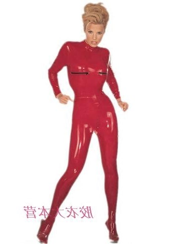 Body shaping suit AD Black, red, optional S M L XL other sizes Long sleeves routine Solid color sexy two hundred and one thousand seven hundred and eight trousers latex summer