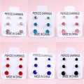 Ear Studs other RMB 1.00-9.99 Other / other 0567 pink 0566 black 0564 light blue 0563 big red 0565 royal blue 0568 white brand new female Not inlaid