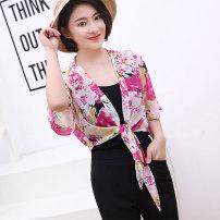 Scarf / silk scarf / Shawl шифон женщина Летний сезон шаль тень Студенты, молодежь, среднего возраста, в возрасте прямоугольник Цветы растений Бокс галстук 73cm 51cm sj-13 31% (включительно) -50% (включительно) Yingrenxin