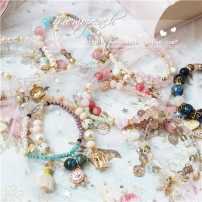 Bracelet Alloy / silver / gold 30-39.99 yuan Other / other 1. 7. 5. 3. 4. 2. 6. brand new Sweet goods in stock female Alloy inlaid artificial gem / semi gem Stars / sun / Moon / clouds / universe