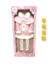 Doll / accessories parts 4 years old 5 years old 6 years old 7 years old 8 years old 9 years old 10 years old 11 years old 12 years old 13 years old 14 years old above 14 years old Ye Luoli China Ye Luoli 60 cm baby clothes Over 14 years old LX012 parts cloth nothing clothing