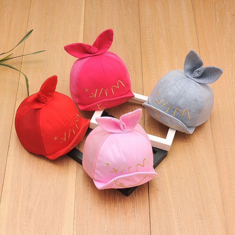 Hat Average size Grey rose pink red mesh red Velcro mesh rose red Velcro mesh grey Velcro mesh blue Velcro black mesh pink Velcro rabbit grey cloth cap Velcro rabbit yellow cloth cap Velcro 6-30 months female peaked cap dome leisure time Other / other Short eaves blending qz4526