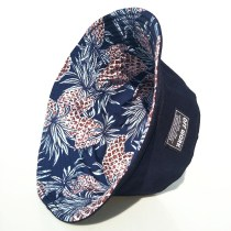 Hat cotton Navy Blue M(56-58cm) spring, summer, autumn, winter Basin Hat / Fisherman Hat Universal Casual Flat top Teenager Couple Youth Flowers Wide