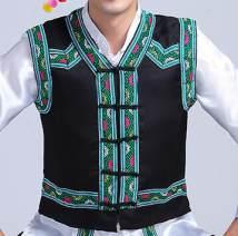 Vest / vest other nine thousand nine hundred and sixty-eight black 110 120 130 140 150 160 165 170 175 180 185 190 dance standard Vest