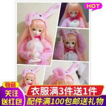 Doll / accessories parts 7 years old, 8 years old, 9 years old, 10 years old, 11 years old, 12 years old, 13 years old, 14 years old and above Ye Luoli China Cute rabbit ≪ 14 years old DM013 parts Fashion cloth other nothing Four hundred and forty-four clothing
