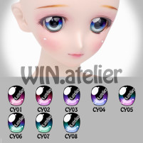 BJD doll zone Eyes 1/3 Over 6 years old goods in stock 001 002 003 004 005 006 007 008 Win