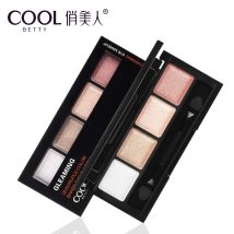 Eye shadow Normal specifications Beauty No China Eye Makeup Dimming Dark Circles Grooming Contours Waterproof and Sweatproof 03# Colorful Butterfly 04# Soft Pink Purple 02# Warm Gold Gravel 01# Gold Pink 4 colors Any skin type Pretty Beauty Baking Eyeshadows Baking Eyeshadows two thousand and sixteen