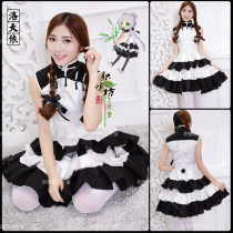 Cosplay women's wear Spot skirt 14 years old and above Average code Games Anime black