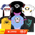 Cartoon T-shirt / Shoes / clothing T-shirt Over 8 years old Watch the vanguard goods in stock Diva [DVA] T-shirt Lucio [DJ] T-shirt Angel T-shirt [2017] death T-shirt [2017] soldier 76 [T-shirt] Genji T-shirt [2017] DVA [white] S M L XL XXL Unlimited season summer Chinese Mainland male Happy home