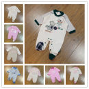 Jumpsuit / climbing suit / Khaki Other / other Class A neutral B-white bear b-pink bear b-white leopard b-pink leopard b-green hippo b-blue hippo b-white rabbit b-pink rabbit 0-1m 1-3m 3-6M 6-9M 9-12M 56a mark 62A mark Pure cotton (100% content) Long sleeves Long climb Britain No model nothing
