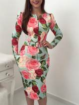Dress Autumn of 2019 Decor S,M,L,XL Middle-skirt singleton  Long sleeves street other middle-waisted Decor zipper One pace skirt routine Others 18-24 years old T-type Other / other 1001# 51% (inclusive) - 70% (inclusive) other other Europe and America