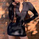 Dress Spring 2020 Black, fluorescent green, grey, army green S,M,L