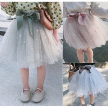 skirt 90cm,100cm,110cm,120cm,130cm,140cm Grey, green, pink Other / other female Other 100% summer skirt princess other other other Class B